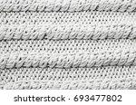 knitted fabric texture | Shutterstock . vector #693477802