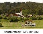 sankt anton am arlberg  austria | Shutterstock . vector #693484282