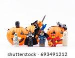 nonthabure  thailand   august ... | Shutterstock . vector #693491212
