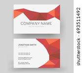 vector modern creative business ... | Shutterstock .eps vector #693511492
