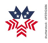 star vector logo. united states ... | Shutterstock .eps vector #693542686
