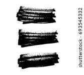 horizontal brush strokes | Shutterstock .eps vector #693545332