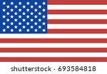 usa flag background.   Shutterstock . vector #693584818