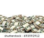 3d illustration stack of... | Shutterstock . vector #693592912