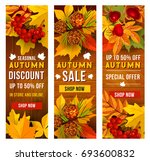 Autumn Sale Banner Set Of Fall...