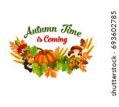 Autumn Time Is Coming Poster Of ...