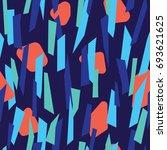 modern seamless pattern design... | Shutterstock .eps vector #693621625
