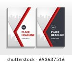 business modern brochure design ... | Shutterstock .eps vector #693637516