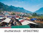 dong van  ha giang province ...   Shutterstock . vector #693637882