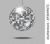 mirror glitter disco ball... | Shutterstock . vector #693649672
