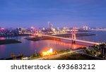 city night | Shutterstock . vector #693683212