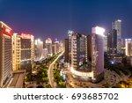 night city | Shutterstock . vector #693685702
