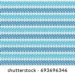 blue wavy pattern. ... | Shutterstock .eps vector #693696346