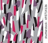 modern seamless pattern design...   Shutterstock .eps vector #693714136