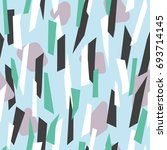 modern seamless pattern design... | Shutterstock .eps vector #693714145