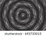 hypnotic spiral vector... | Shutterstock .eps vector #693733015