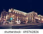 famous state opera in vienna... | Shutterstock . vector #693762826