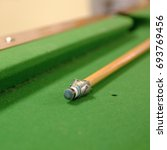 Small photo of Flinders Rangers National Park, Australia - February 08, 2002: Pool table