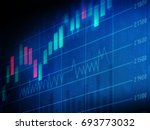 financial charts and graphs... | Shutterstock . vector #693773032
