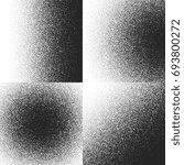 halftone textures  patterns... | Shutterstock . vector #693800272
