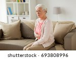 old age  health problem and... | Shutterstock . vector #693808996