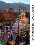 everland  south korea   02th... | Shutterstock . vector #693820465