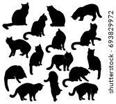 collection of vector... | Shutterstock .eps vector #693829972