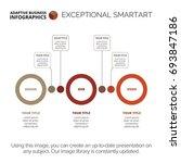 process chart template | Shutterstock .eps vector #693847186