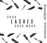 fashion typography inscription  ... | Shutterstock .eps vector #693854518