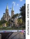 sao paulo  brazil  april 20 ... | Shutterstock . vector #693856996