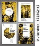 creative brochure covers....   Shutterstock .eps vector #693862465