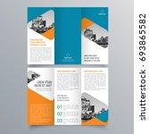 brochure design  brochure... | Shutterstock .eps vector #693865582