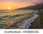 gagra  abkhazia  georgia   july ... | Shutterstock . vector #693880156