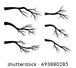 bare branch set vector symbol... | Shutterstock .eps vector #693880285