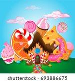 vector illustration of a... | Shutterstock .eps vector #693886675
