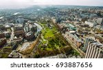 bristol city center aerial view ... | Shutterstock . vector #693887656