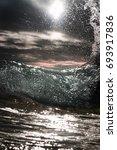 shorebreak | Shutterstock . vector #693917836