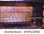 dirty oven | Shutterstock . vector #693922858