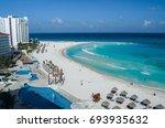 Cancun Beach  Mexico  Caribe.