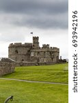 A Cloudy Day At Pendennis Castle