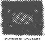 halftone dots background   logo ... | Shutterstock .eps vector #693953356