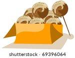 illustration of isolated... | Shutterstock .eps vector #69396064