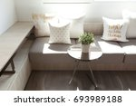 Cushion And Table By The Window