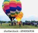 putrajaya  malaysia   august 11 ... | Shutterstock . vector #694006936