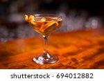 low angle closeup of gourmet...   Shutterstock . vector #694012882