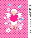 cute cupid | Shutterstock .eps vector #69403117