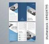 brochure design  brochure... | Shutterstock .eps vector #694039795