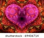 Detailed Colorful Fractal Hear...