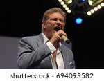 david hasselhoff at fedcon 26.... | Shutterstock . vector #694093582