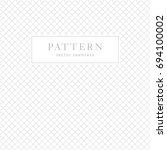 simple geometric seamless... | Shutterstock .eps vector #694100002